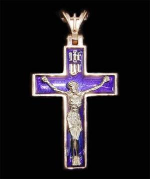 Крест золото